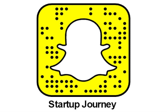 Startup Journey Snapchat Channel